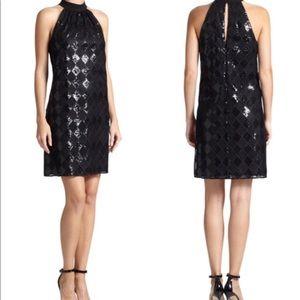 Dresses & Skirts - Laundry Sequined Diamond Lace Dress
